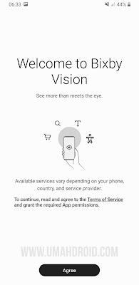 Terima Lisensi Bixby Vision HP Samsung
