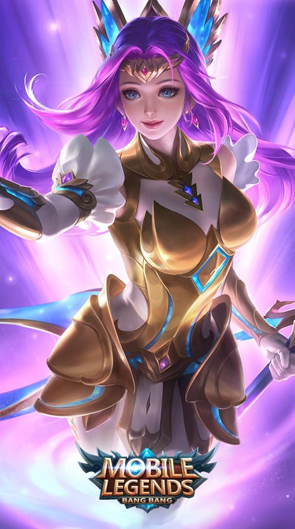 Wallpaper Odette Virgo Skin Mobile Legends HD for Android and iOS