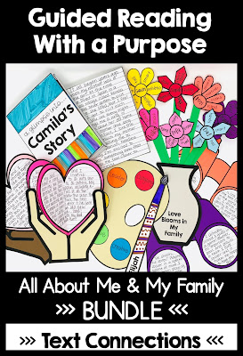 All About Me & My Family Guided Reading with a Purpose