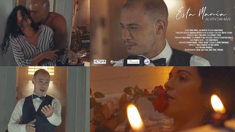 Alwin Damián - ¨Esta manía¨ - Videoclip - Director: Alain Duany. Portal Del Vídeo Clip Cubano. Música romántica cubana. CUBA.