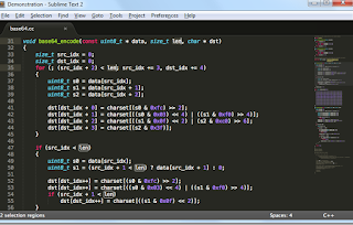 sublime text - text editor programmer