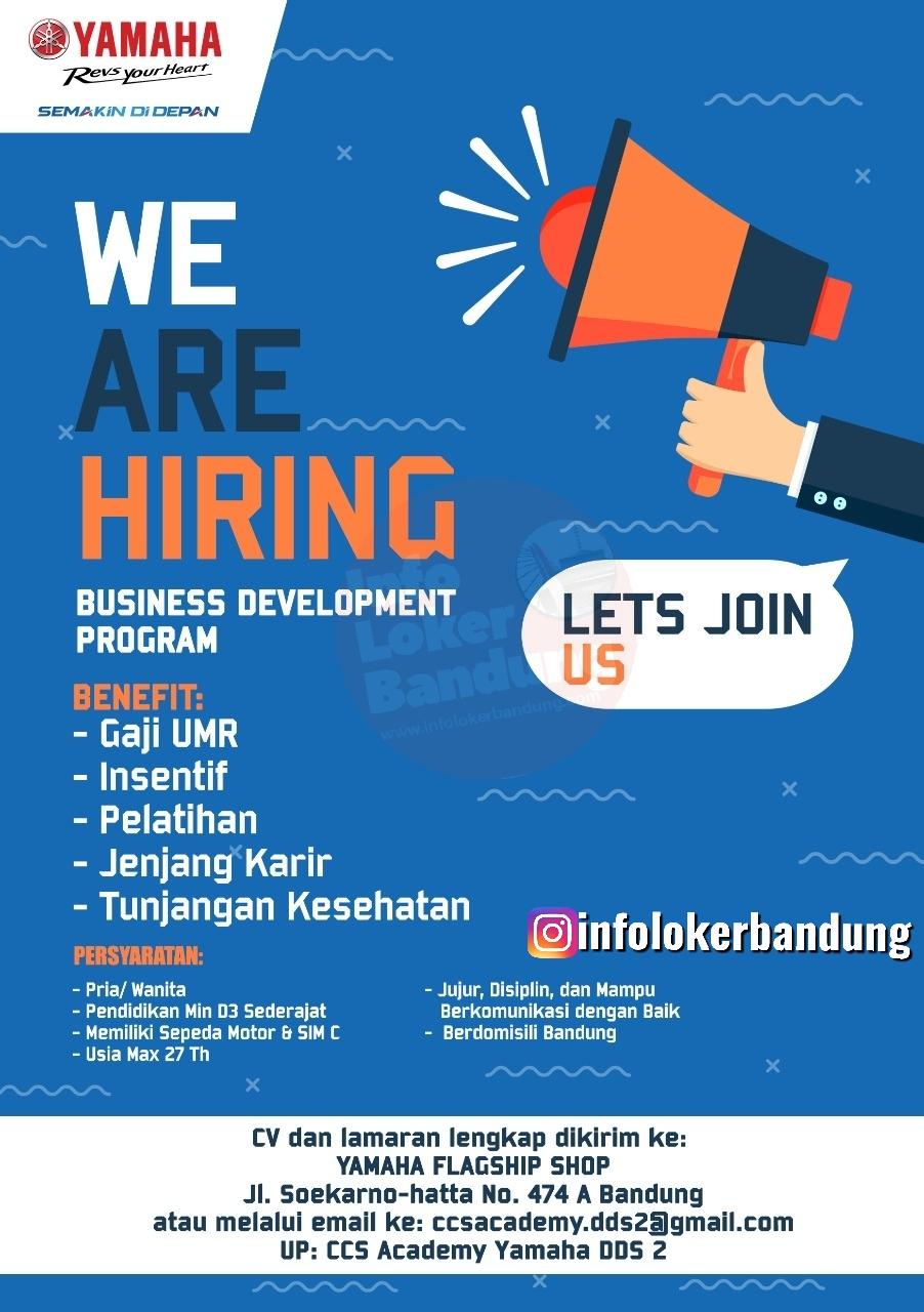 Lowongan Kerja Business Development Program Yamaha Flahship Shop Bandung Jawa Barat Maret 2020