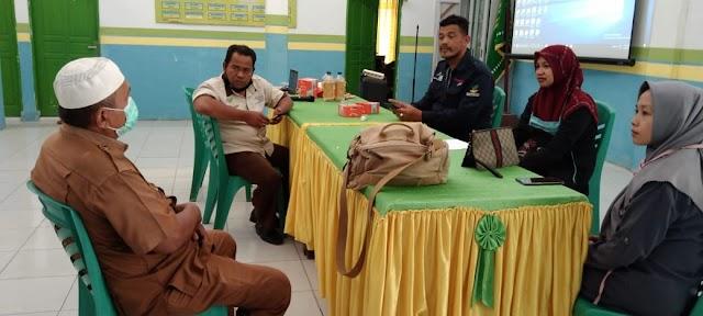 Pendamping PKH, Koordinasi Wilayah Baru Dengan Camat Teluk Mengkudu