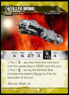 Vessel type: U.S.P.V. Inferno