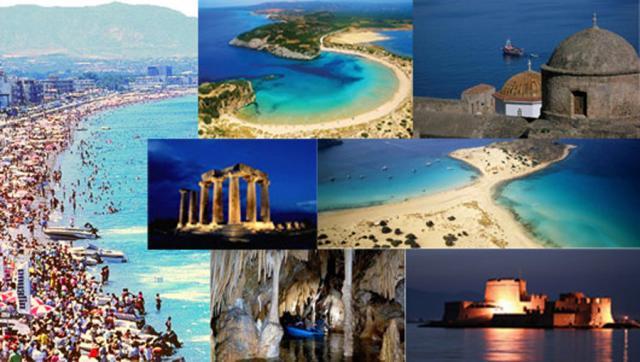 «Μικρομεσαία» κινήθηκε τουριστικά η Περιφέρεια Πελοποννήσου το 2017