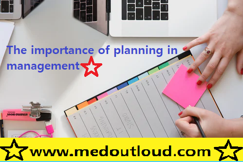 The importance of planning in management
