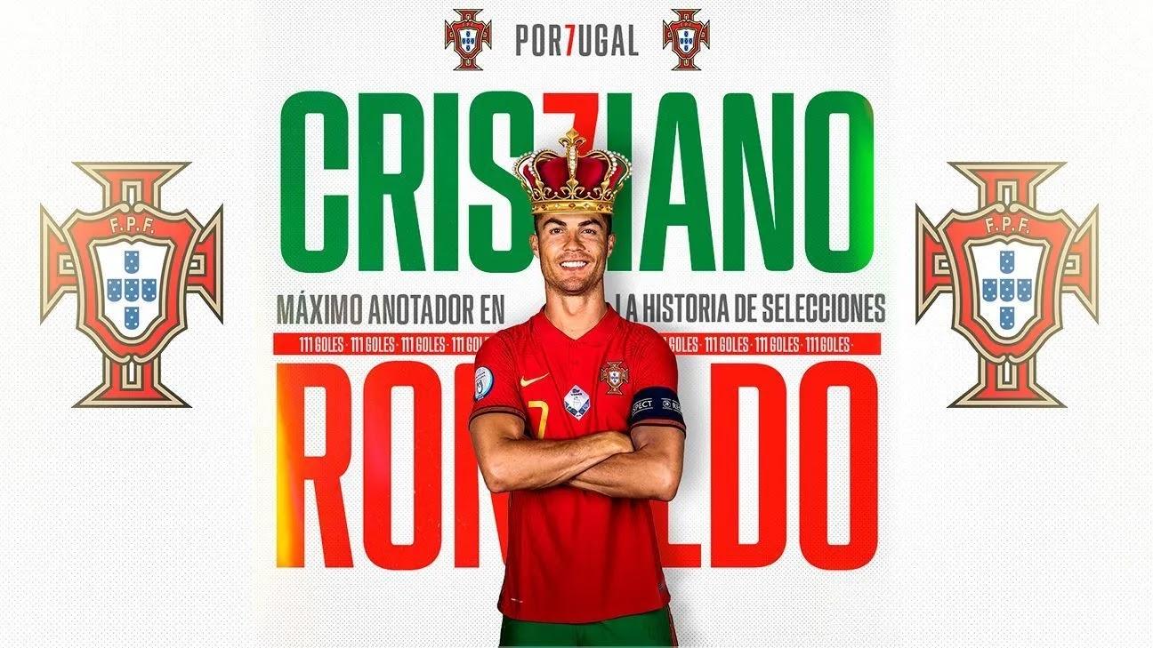 Cristiano Ronaldo se convierte en el máximo goleador de selecciones