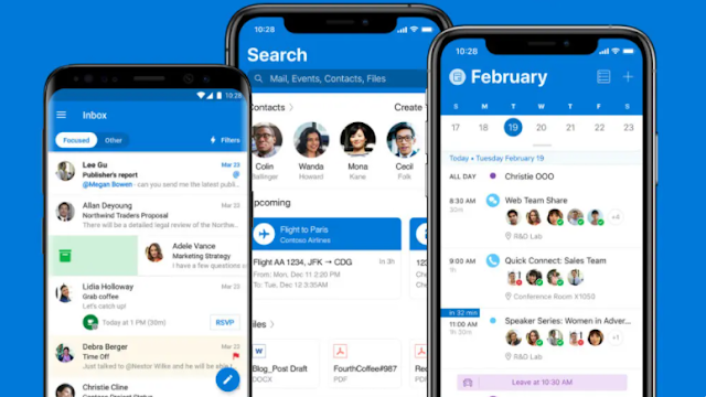 Microsoft Outlook: the iOS application will receive new features