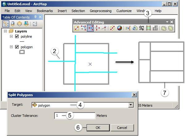 Editing Fitur pada ArcGIS (Tingkat Lanjut) - Split polygon