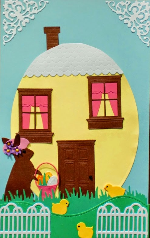 Charmingly Creative: Easter Cottage - photo#23
