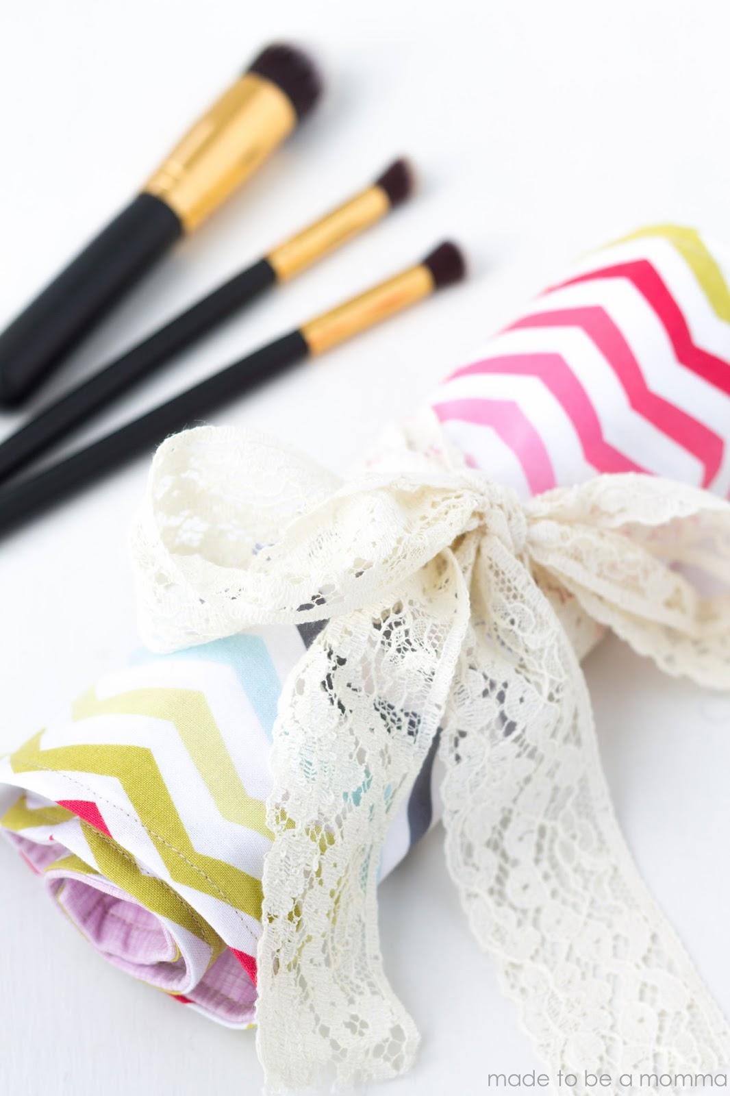 DIY - 7 Ideias de presentes para sua melhor amiga: Porta pincel de maquiagem