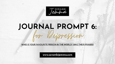Journal Prompt for Depression: Prompt 6