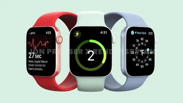 Apple Watch Series 7 renders based on rumors