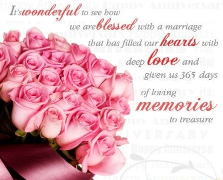 Anniversary messages for parents with beautiful pictures