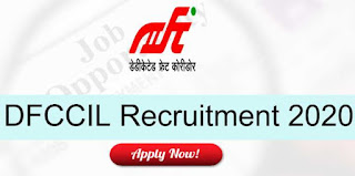Latest Sarkari Naukri 2020: DFCCIL Recruitment For Dy CPM / PM Posts | Sarkari Jobs Adda