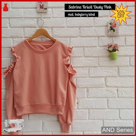 AND320 Sweater Wanita Sabrina Kriwil Murah BMGShop