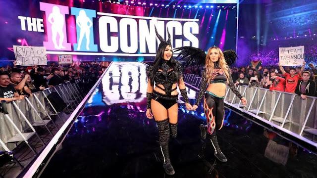 The Ilconics retornam durante o RAW