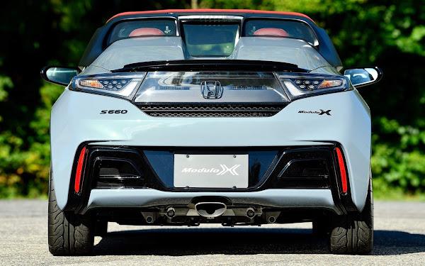 Honda S660 Módulo X versão Z é versão final do kei car esportivo