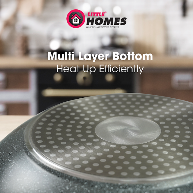 Little Home Jo's Marble Cookware Feature - Even Heat Distribution