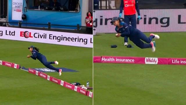हरलीन देओल ने पकड़ा महिला क्रिकेट इतिहास का सबसे अद्भुत कैच