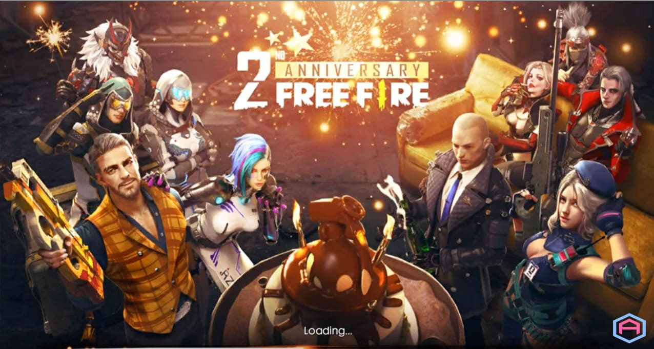 لعبة شبيه ببجي فري فير free fire