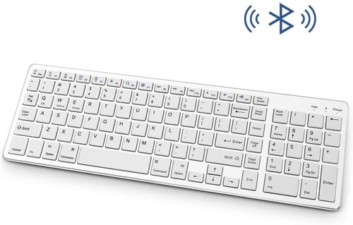 Review Attoe Rechargeable Portable BT Wireless Keyboard