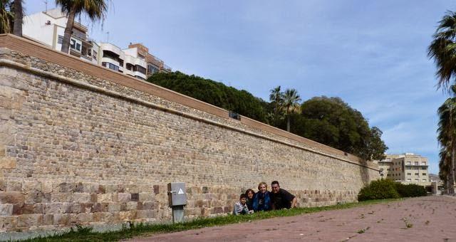 Muralla de Cartagena.