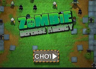 Chơi game phòng tuyến zombie 2 hấp dẫn