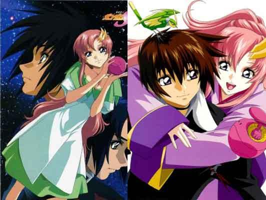 Anime meccha yang ada ikkeh ikkeh nya -  Mobile Suit Gundam SEED