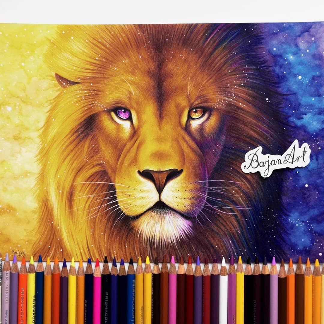 11-The-Lion-King-Łukasz-Andrzejczak-Fantasy-Art-and-Animals-www-designstack-co