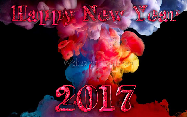 Happy New Year  2017 Artistic 3D Pictures Background  Download For Desktop/PC