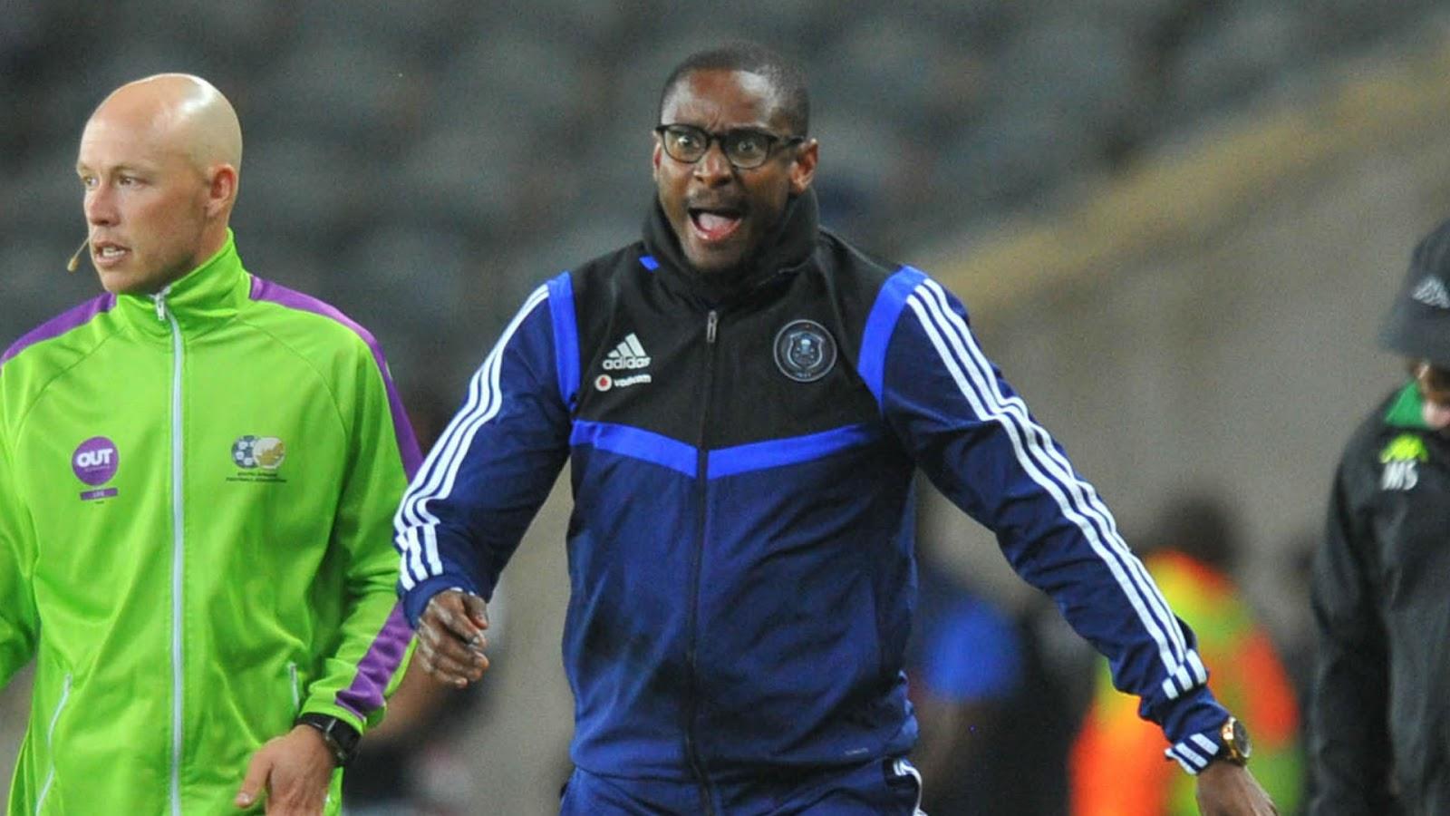 Orlando Pirates interim head coach Rulani Mokwena