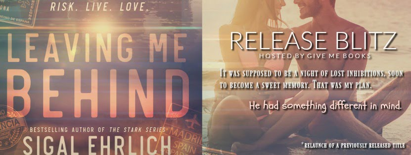 Leaving Me Behind Release Blitz