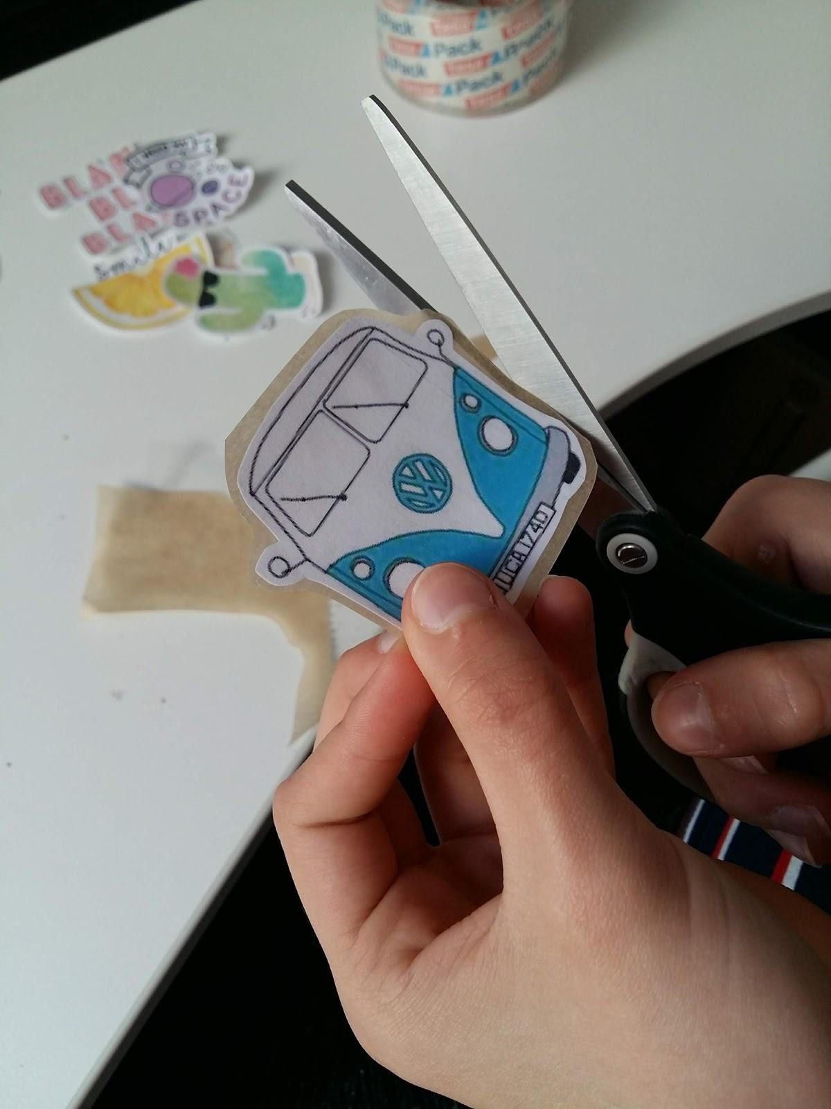 Craft Diy Federn Einhorn Papier Bastelset Sticker Vorgestanzte Motive