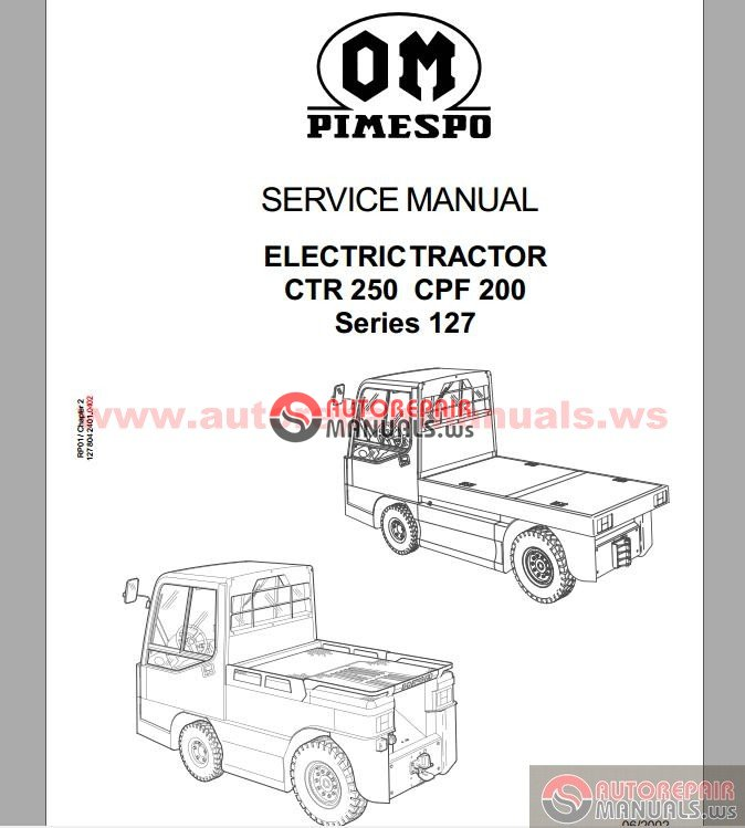 Free Auto Repair Manual : OM Pimespo Service,Parts not