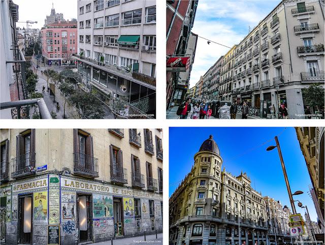 Localização do Hotel Sidorme Fuencarral 52 em Chueca, Madri