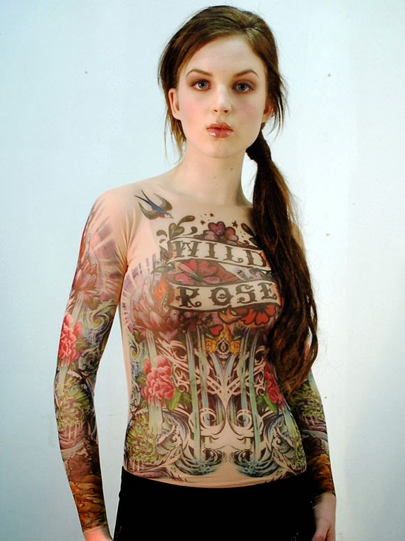 Latest Tattoos Design T Shirts For Girls And Women Apni
