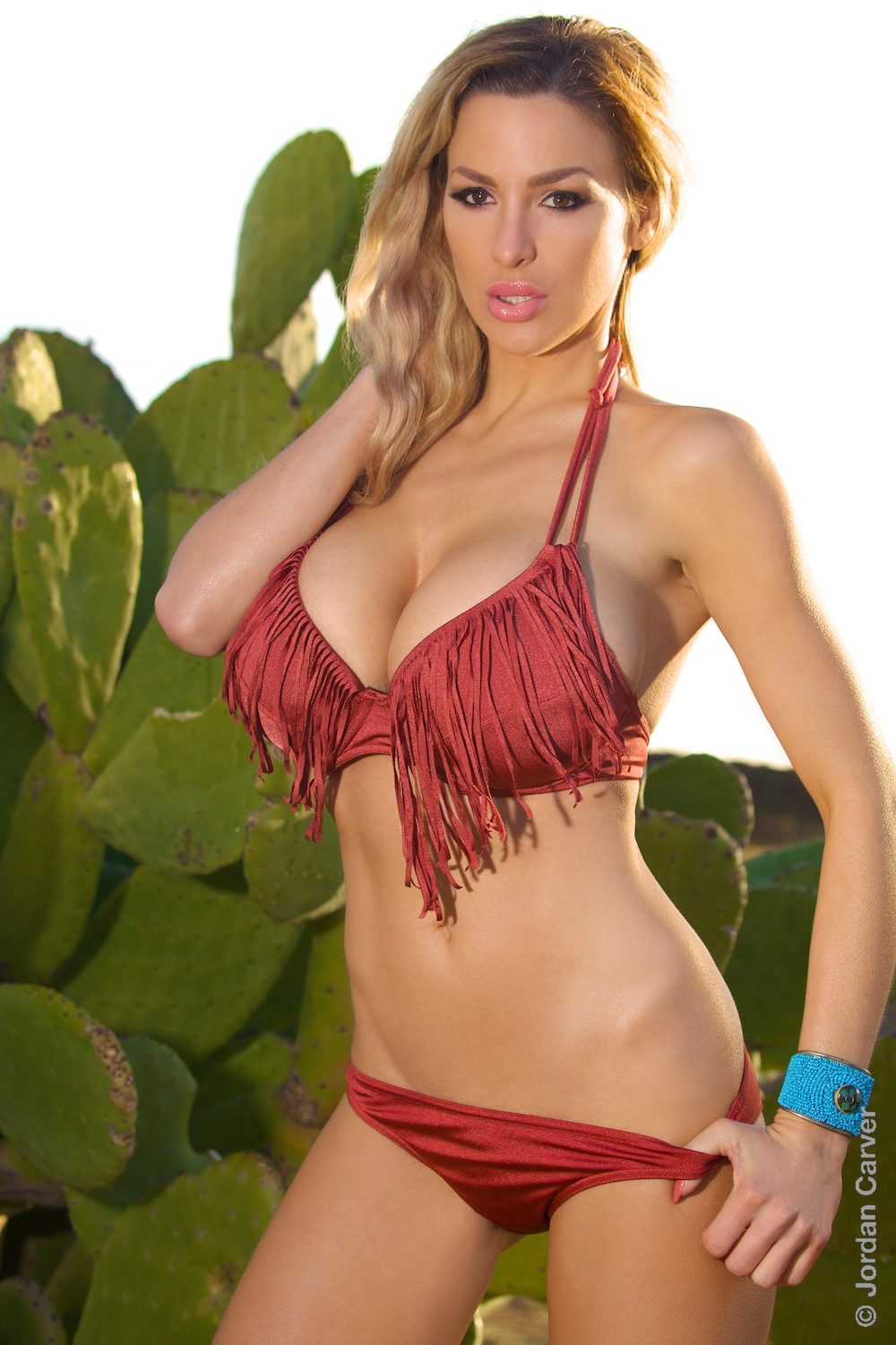 Jordan Carver In Bikini - Indian Girl - Big Boobs Jordan -9918