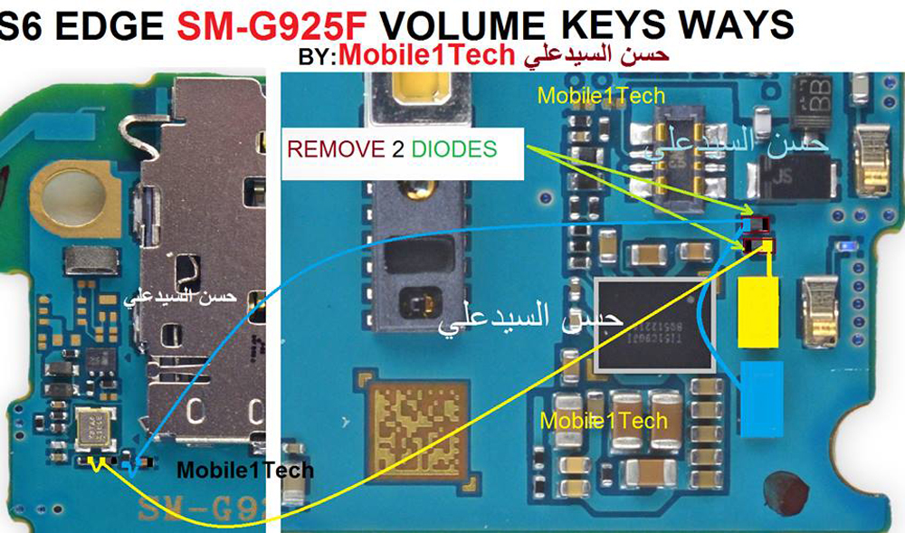 Samsung Galaxy S6 Speaker Solution Jumper Problem Ways