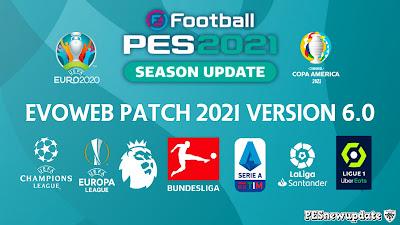PES 2021 EvoWeb Patch 2021 Version 6.0 DataPack 7.0