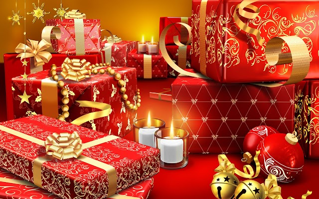 Christmas High Resolution Gifts Wallpapers