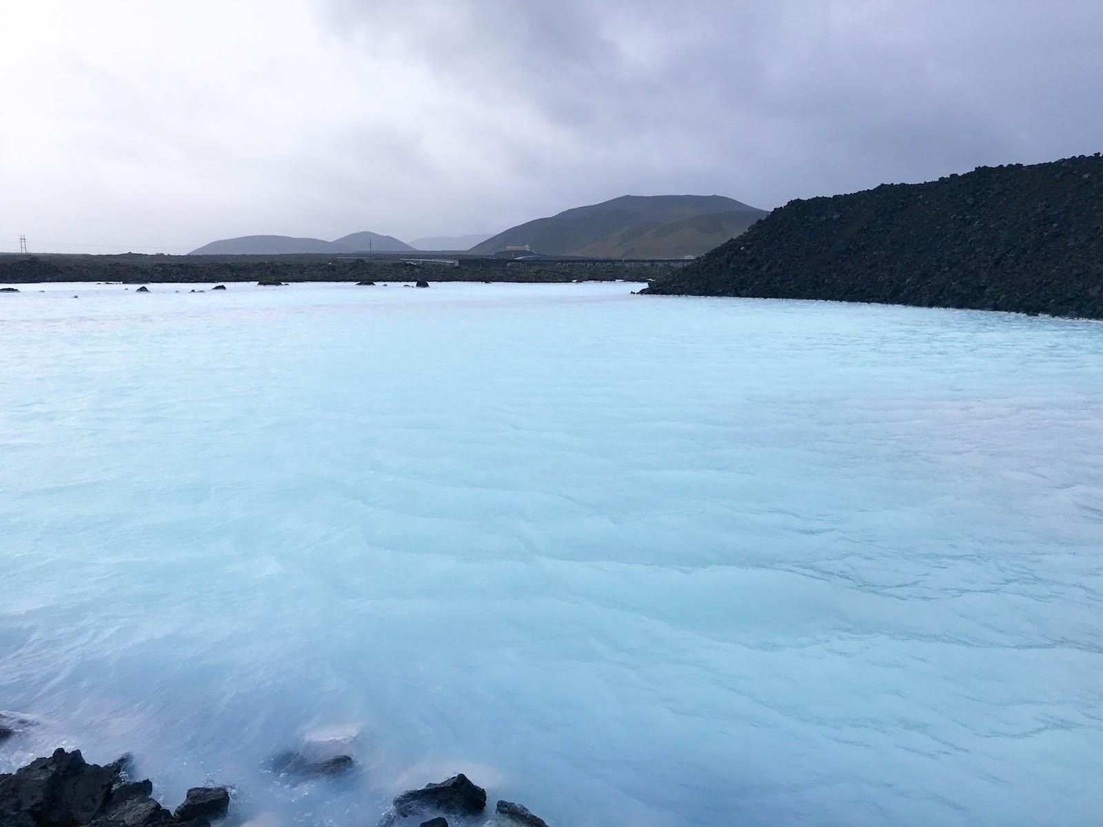 Blue Lagoon in October