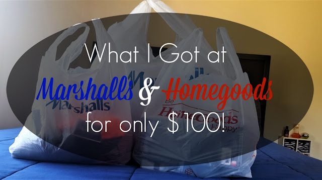 Marshalls and Homegoods Haul