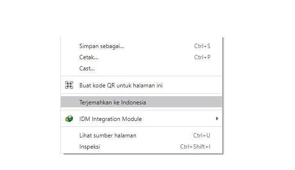 3 Solusi Terjemahan di Google Chrome Tidak Muncul