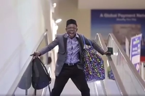 VIDEO: Nigerian actor Osuofia features in NDC advert