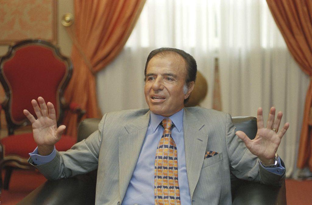 Murió a los 90 años el expresidente Carlos Menem