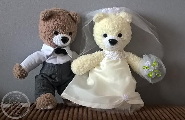 Para małżeńska na szydełku