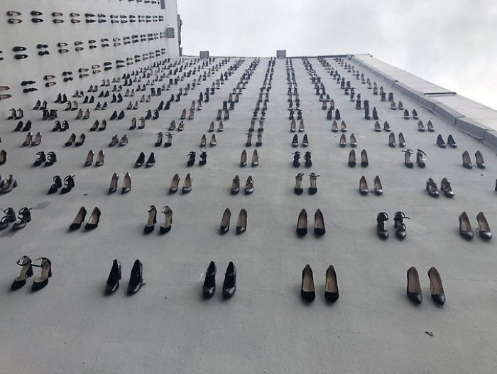 Shocking Memorial In Turkey Commemorates 440 Women Who Were Killed By Their Husbands In 2018