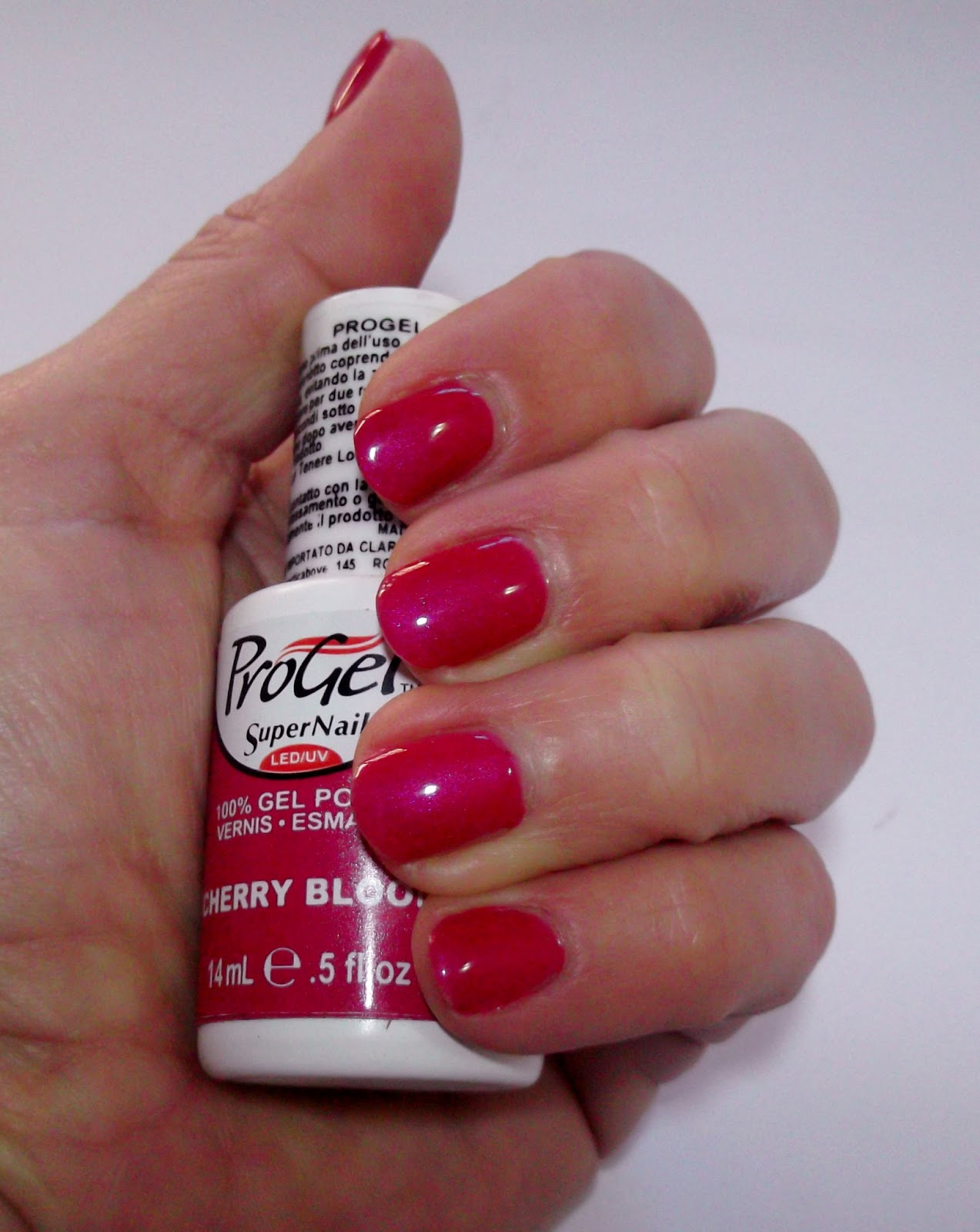 SuperNail: ProGel Smalto Semipermanente Cherry Bloom By
