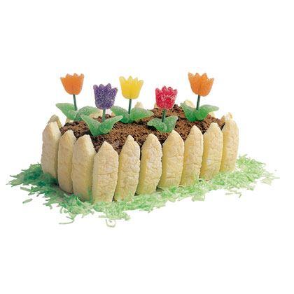 Gumdrop Garden Cake